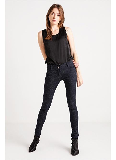 Love'n Fashion Paris Pantolon Lacivert